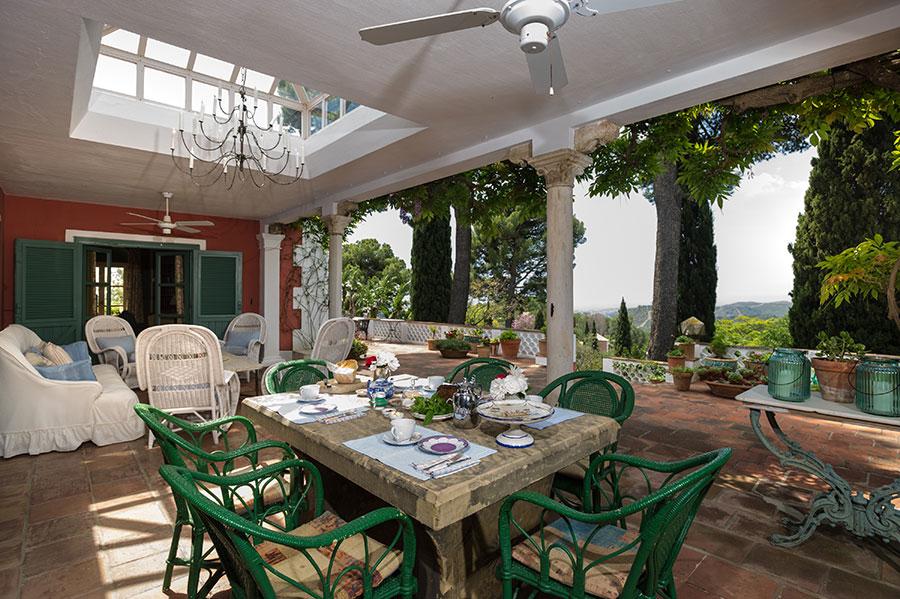 Gastronomia degusta en las mejores terrazas de dehesa de alcuzcuz malaga -Ronda