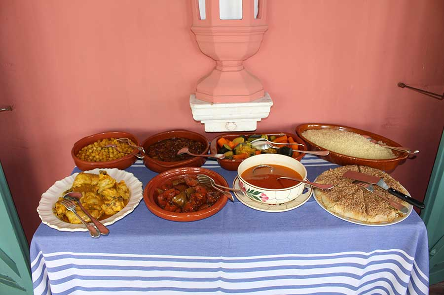 Gastronomia cocina en dehesa de alcuzcuz malaga -Ronda
