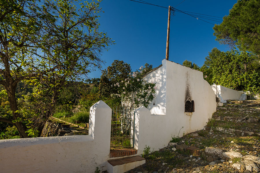 Gastronomia nuestros propios huertos en dehesa de alcuzcuz malaga -Ronda
