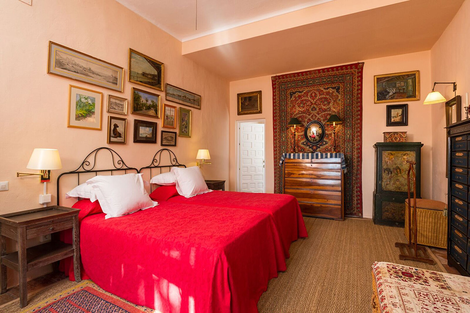 Alcuzcuz hotel benahavis malaga marques dormitorio